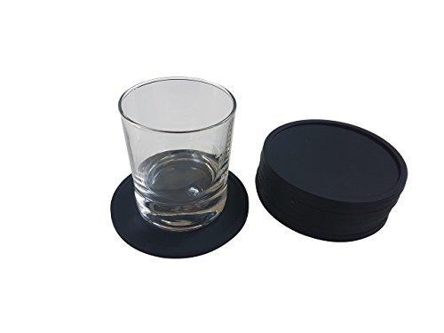 premium-silicone-drink-rubber-coasters-8-black-set