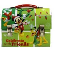 Small Workmans Box - Disney - Mickey Mouse - Celebrate Tin New 995707-6-2 - 1