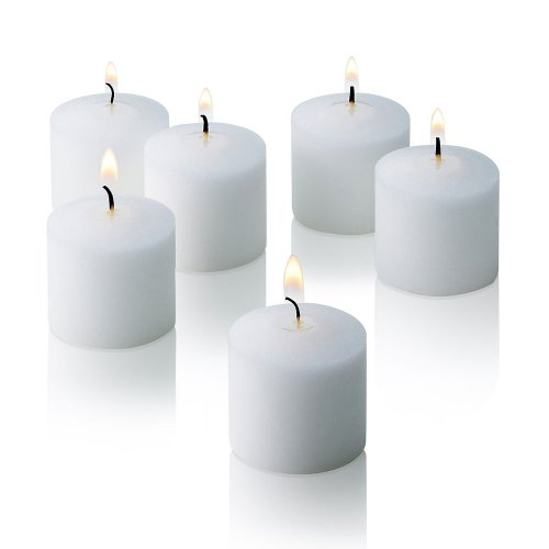 10 Hour White Jasmine Scented Votive Candles Set Of 72 Made In Usa
