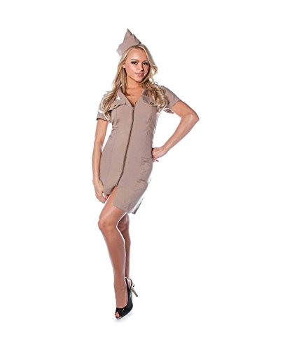 Sexy Booty Camp Women's Military Costume