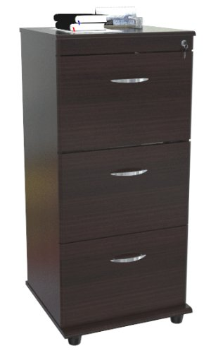 Inval America AR-3X3S Mobile File with 3 File Drawers