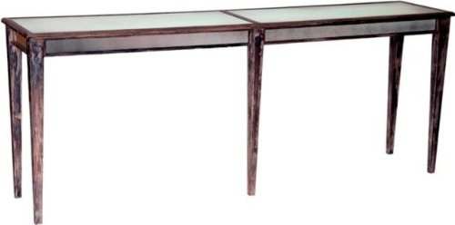 Image of Notre Monde CT8418-DW Console Table with Straight Legs - Driftwood (CT8418-DW)