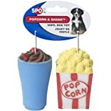 Ethical Pet Products (Spot) DSO5744 2-Pack Vinyl Popcorn and Shake Dog Toy