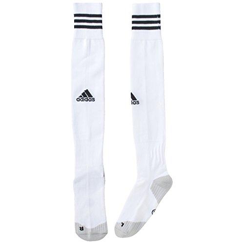 adidas, Calzini da calcio Uomo Adisocks 12, Bianco (White/Black), 37-39