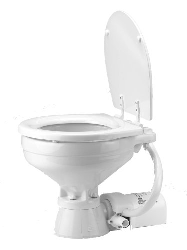 Jabsco 37010-1090 Marine Marine Electric Toilet (12-Volt, 25-Amp, Regular Size)
