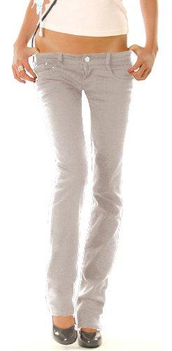 h ftjeans r hrenjeans damenjeans jeans hose gr 40 l grau. Black Bedroom Furniture Sets. Home Design Ideas