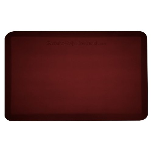 Smart Step Supreme Smooth, Non-SlipTop Surface, Anti-Slip Strips & Carpet Grippers on Bottom Burgundy SS32BUR at Sears.com