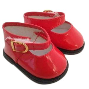 Red Patent Mary Jane Shoes for American Girl Dolls