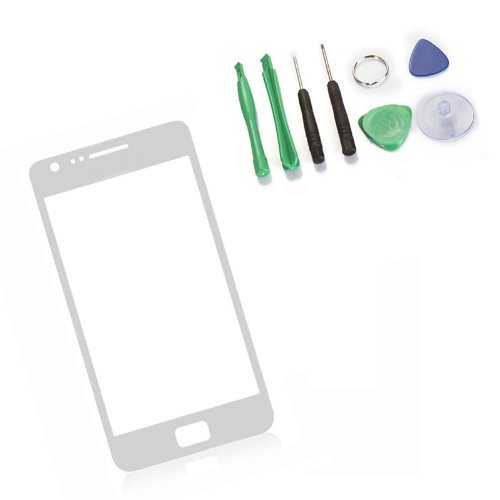 Touch Screen Outer Glass Lens For Samsung Galaxy S2 I9100 Sii-White