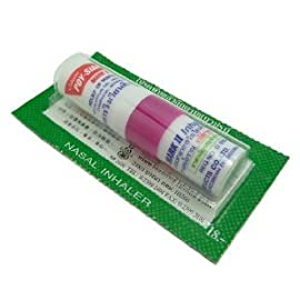 Poy Sian Nasal Inhaler for Cold, Flu and Dizzy