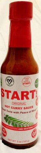 Start Hot Curry Sauce, Original, 5 Ounce