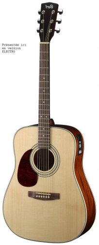 CORT EARTH SERIES E70GTF LEFT HANDED Acoustic