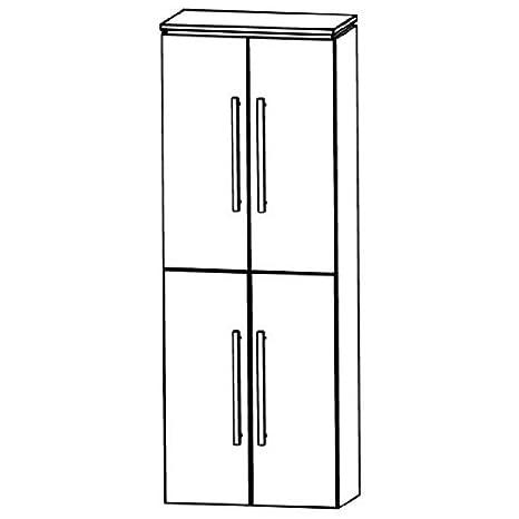 Cool Puris Line (HNA036A5 Bathroom High Cabinet 60 CM