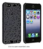 For iPhone 5 Bird's Nest Design Interwove Line Hollow Hard Protector Case