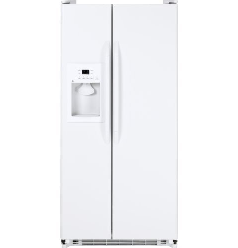 Ge Gss20Gewww 20.0 Cu. Ft. White Side-By-Side Refrigerator - Energy Star front-99645