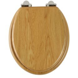 Jupiter Oak Soft Close Toilet Seat
