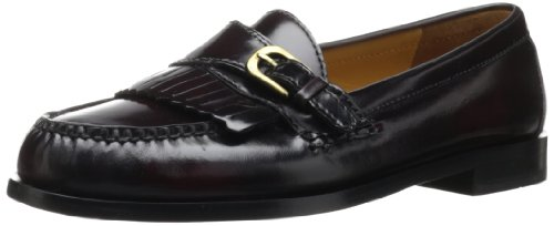 Cole Haan Men's Pinch Buckle Loafer, Burgundy, 8.5 D US (Cole Haan Men Slip On Shoes compare prices)