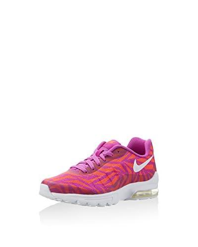 Nike Sneaker Air Max Invigor Jacquard violett/orange