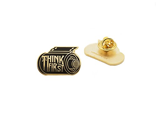 Asilda Store Think First Film Roll Lapel Pin (35 Mm Camera Film compare prices)