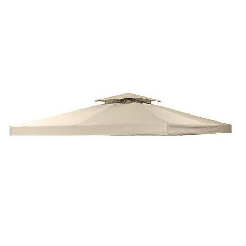 OPEN BOX - 10' X 10' Universal Gazebo Replacement Canopy - BEIGE