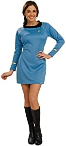 Star Trek Classic Deluxe Dress in Red Costume