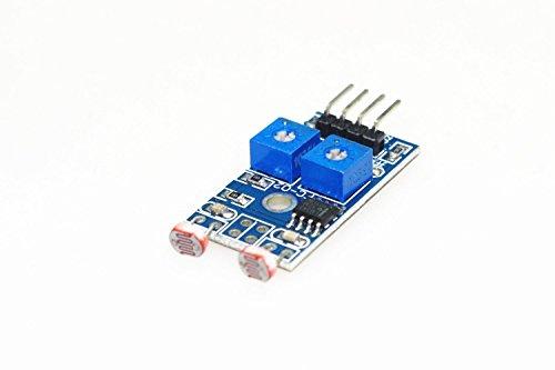 SMAKN® PCB Board 4 Pins 2 Channel Photoresistor Sensor Module New (Pcb Board Photo compare prices)