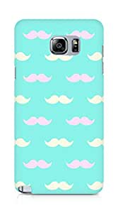 AMEZ Pattern 6 Back Cover For Samsung Galaxy Note 5