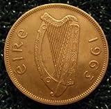 Irish (Hen & Chicks) Lucky 'Good Luck' Penny 1d Pre Decimal Coin (2nd Bonus Penny FREE!)