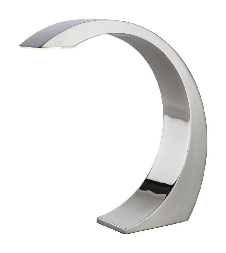 Firstlight Arch 1 x 3 Watt Touch LED Chrome Table Lamp, chrome