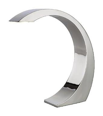 Firstlight Arch 1 x 3 Watt Touch LED Chrome Table Lamp, chrome