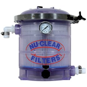 Nu-Clear 522 Canister Filter - 18 sq. ft. 100 Micron Mechanical Filter