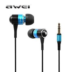 Awei ES-Q3 Super Bass In-ear Earphones Headphone For iPhone(Blue)