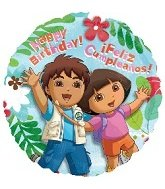 "18"" Dora & Diego Birthday - 1"