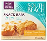South Beach Diet Snack Bars Whipped Peanut Butter -- 5 Bars