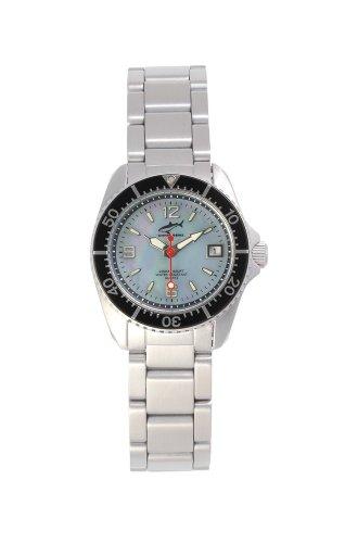 Chris Benz One Lady CBL-H-SW-MB Reloj elegante para mujeres Reloj de Buceo