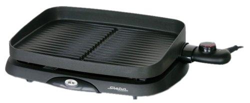 Steba VG 90 compact Barbecue-Tischgrill schwarz