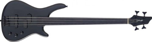 Stagg BC300FL Fretless 4-String Fusion Electric Bass Guitar - Black