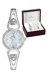 Bulova Crystal Box Set Women's watch #96X122