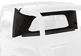 Bestop 80033-15 Black Denim WrapAround Windjammer Wind Break for 97-02 Wrangler TJ