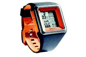MetaWatch Strata Tangerine App Based Smart Watch for Iphone 4S and Above Android 2.3 And Above