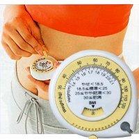 メタボメジャー お父さんお母さんにプレゼントに最適 メタボリックメジャー肥満度指数を調べるスケールも内臓