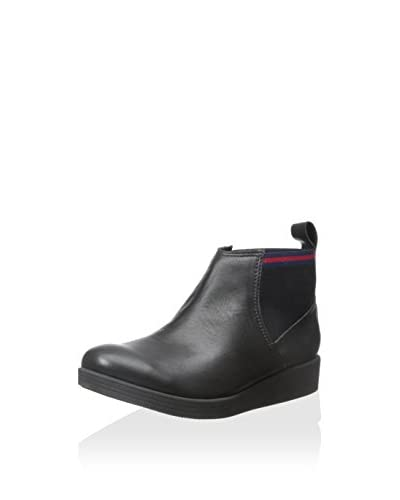 ALL BLACK Women's GG Pull-On Ankle Boot