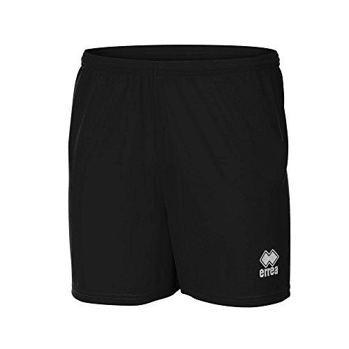 Errea - Pantaloncini Corti da Calcio - Uomo (M) (Nero)