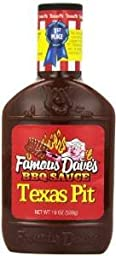 Famous Dave\'s BBQ Sauce Texas Pit, 19-Ounce