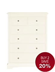 Carmelle 4+2 Drawer Chest