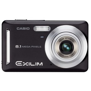 Casio Exilim EX-Z9BK 8MP 3x Zoom 2.6-Inch LCD Screen