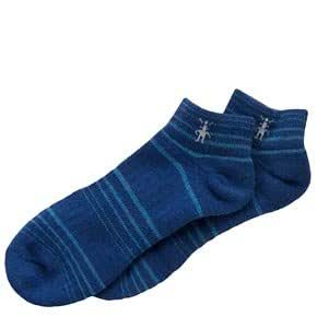 Smartwool Womens Roundabout MicroMini Crew Socks, Cobalt size M (shoe size 7-9.5)