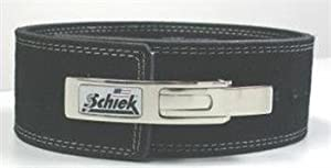 Buy Schiek Lever Competition Power Lifting Leather Belt - L by Schiek