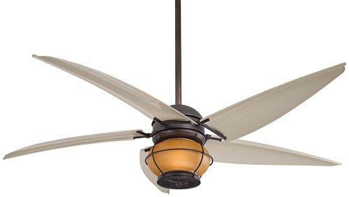 Minka Aire F579-L-ORB Magellan 60 in. Outdoor Ceiling Fan - Oil Rubbed Bronze