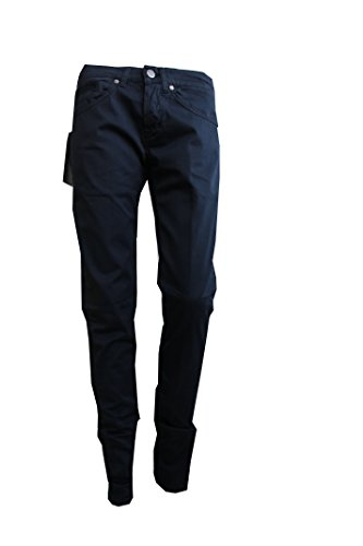 Dondup Pantalone George Blu Uomo Tg 44 Made in Italy